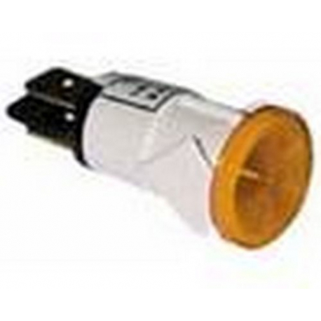 TIQ521551-LAMPE ORANGE 230V F8M 13MM
