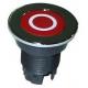 EBOB9607-BOUTON AFFLEURANT ROUGE ORIGINE ROBOT COUPE