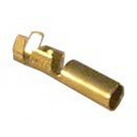 TIQ6578-LOT DE 20 COSSES RONDES NUES 4MM ROND