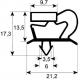 TIQ65142-JOINT DE PORTE 660X1530MM