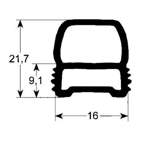 TIQ65265-JOINT DE PORTE 777X1321MM