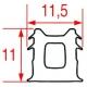 TIQ65238-JOINT APPAREILS LAINOX AU METRE ORIGINE