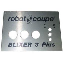 PLAQUE FRONTALE BLIXER 3+ ORIGINE ROBOT COUPE