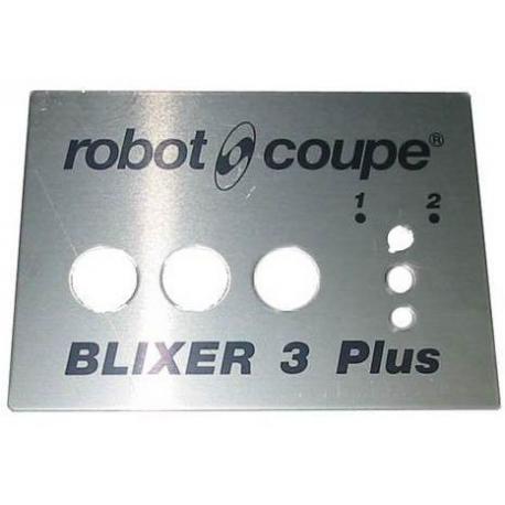 EBOB8111-PLAQUE FRONTALE BLIXER 3+ ORIGINE ROBOT COUPE
