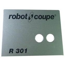 PLAQUE FRONTALE R301B ORIGINE ROBOT COUPE