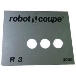 PLAQUE FRONTALE R3B 3000T ORIGINE ROBOT COUPE