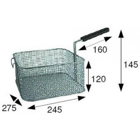 TIQ66557-PANIER DE FRITEUSE 275X245X120