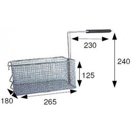 TIQ66570-PANIER FRITEUSE 260X180XH120
