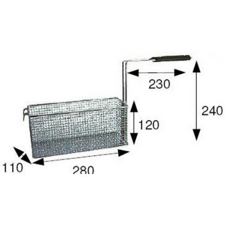 TIQ66573-PANIER FRITEUSE 290X110XH120