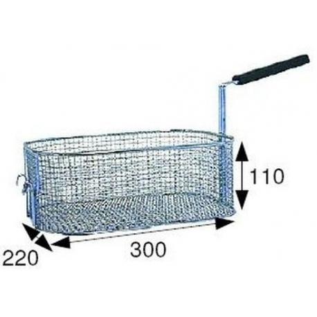 TIQ66585-PANIER DE FRITEUSE 300X220X110
