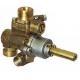 TIQ66615-ROBINET GAZ PEL 22N/V AXE 10X8MM RAC VEILLEUSE M10X1