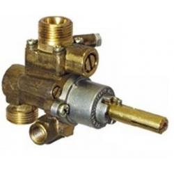 ROBINET GAZ PEL 22N/V AXE 10X8MM RAC VEILLEUSE M10X1