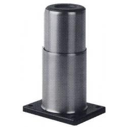 PIED INOX H115MM PLAQUE:100X80