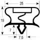 SEYQ6954-GUARNIZIONE PORTA ARPF350