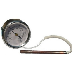 THERMOMETRE 52MM DOUBLE ECHELE