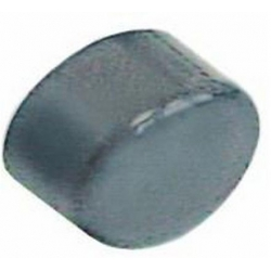 CACHE BOUTON CYCLE OVALE GRIS