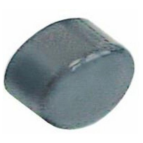 FVYQ659-CACHE BOUTON CYCLE OVALE GRIS