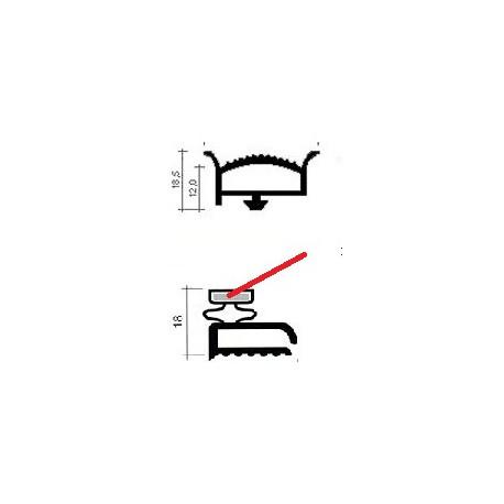 TIQ63252-JOINT CAOUTCHOUC BLANC ORIGINE