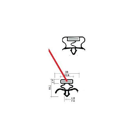 TIQ63988-JOINT CLIPSER BLANC 620X610MM