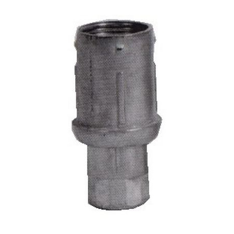 TIQ62188-VERIN POUR TUBE ROND í40MM H:31MM REG 31MM ZAMAK NICKELE