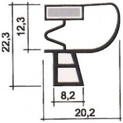 PROFIL PVC A CLIPSER L 2.55M