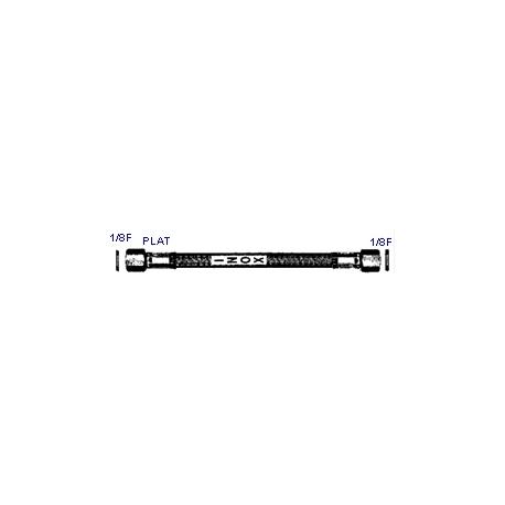 IQ6981-FLEXIBLE INOX 1/8FX1/8F PLAT