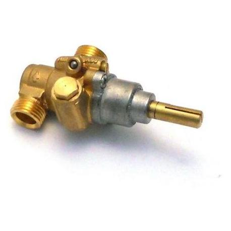 TIQ63824-ROBINET PEL 20/S GAZ ENTREE M16X1.5MM SORTIE M16X1.5MM SECUR