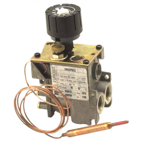 TIQ6336-VALVE EUROSIT RAC TC M9X1 ENTREE 3/8F SORTIE 3/8F TMINI 40°C