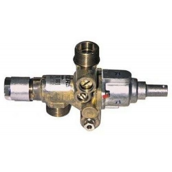 ROBINET GAZ JUNKERS CH110 ENTREE/SORTIE 1/2M RAC TC M8X10 DI