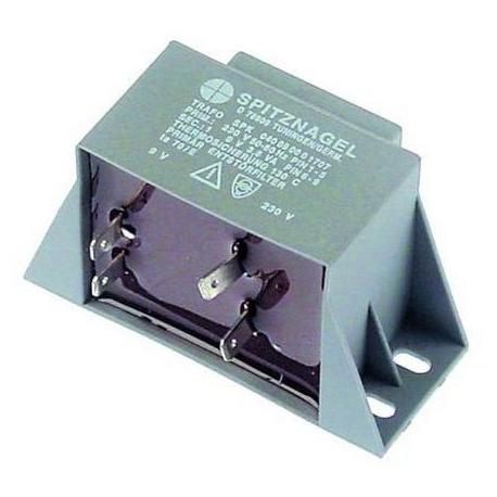 TIQ75736-TRANSFORMATEUR 3.8VA 230V-9V