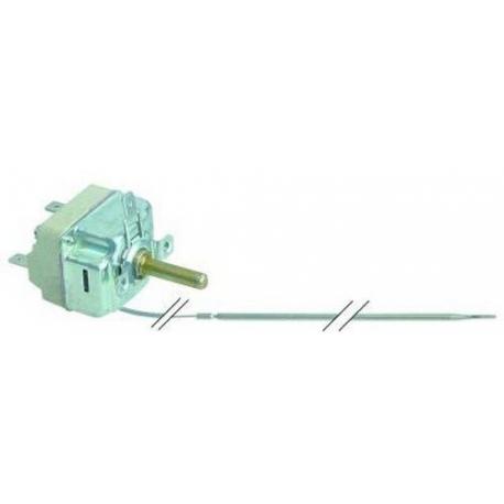 TIQ75812-THERMOSTAT 250V 16A TMINI 50°C TMAXI 300°C CAPILLAIRE 1000MM