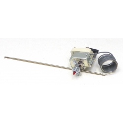 THERMOSTAT 250V 16A TMAXI 335°C MONOPHASE CAPILAIRE 900MM
