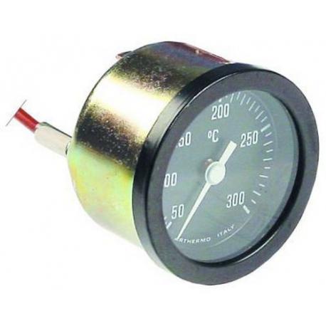 TIQ75042-THERMOMETRE í52MM TMINI 50°C TMAXI 350°C BULBE:25MM íBULBE