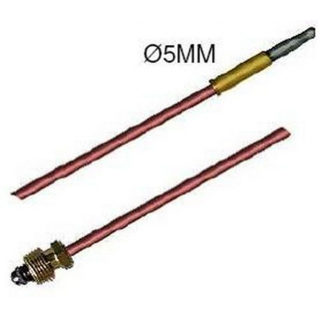 TIQ7533-THERMOCOUPLE 450MM BAGUE 5MM