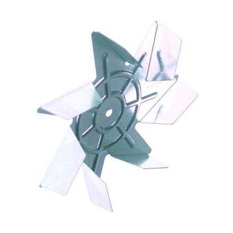 TIQ75444-TURBINE D150X25MM AXE:D6X5MM