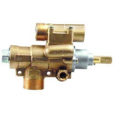 TIQ76687-ROBINET GAZ PEL23S M10X1MM