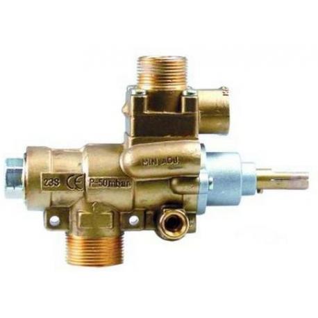 TIQ76688-ROBINET GAZ PEL23S M10X1MM