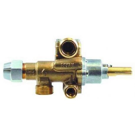 TIQ76682-ROBINET GAZ PEL22S M9X1MM