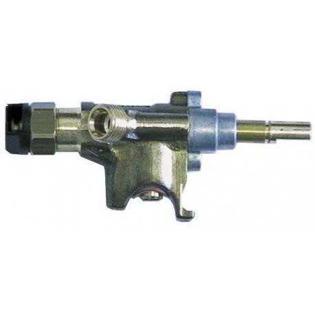 TIQ76618-ROBINET GAZ SABAF POUR FOURNEAU 600-700 ORIGINE