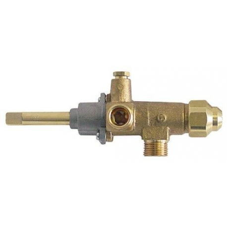 TIQ76613-ROBINET GAZ CAL 3200 AVEC GICLEUR 0.55 RAC TC M8X1 RACCORDEM