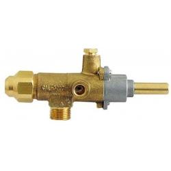 ROBINET GAZ CAL 3200 AVEC GICLEUR 0.55 RACCORD TC M8X1