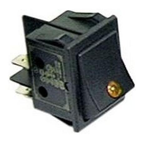 TIQ665570-INTERRUPTEUR LAMPE ORANGE