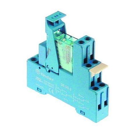 TIQ76460-RELAIS 12VDC COMPLET ET SOCLE