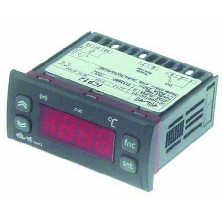 TIQ76474-THERMOSTAT NUMERIQUE ELIWELL IC912 TCJ/K PT100 230V 50HZ