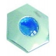 TIQ77763-PLASTRON POUR MANETTE BLEUE