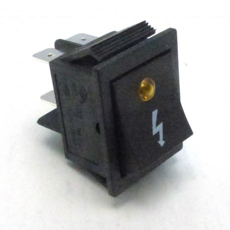 TIQ62055-BOUTON 16A/250V 30X22 FLASH