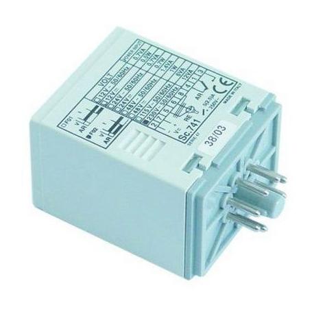 TIQ77109-RELAIS TEMPORISE 6SEC 115-230V