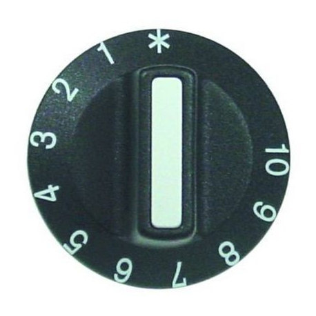 TIQ77208-MANETTE THERMOSTAT 1-10 D42MM