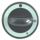 TIQ77387-MANETTE ROBINET A GAZ D62MM
