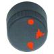 TIQ77384-MANETTE ROBINET A GAZ D30MM